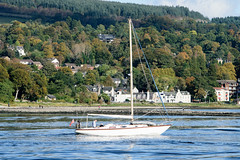 Sunday afternoon sail 'doon' the Clyde. (.....cowboybuilder.....) Tags: riverclyde sailingboat