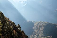 morning light on Tengboche monastery (mtanzi) Tags: nepal himalayas monastery tengboche