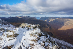 Winter begins (michaelsouter86) Tags: winter snow scotland glencoe hiking climbing