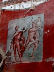 Sacello degli Augustali, Herculaneum - Scavi di Ercolano (Anne O.) Tags: scavidiercolano herculaneum unescoweltkulturerbe sacelloofaugustaliescavations4080670714347828 wandmalerei fresko