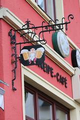 Prost (jueheu) Tags: kneipe pub bier cafe kaffee reklame werbung schttorf grafschaftbentheim niedersachsen germany deutschland norddeutschland nordwestdeutschland
