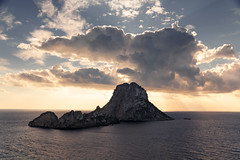 Isla de Es Vedrá (irenegf) Tags: isla esvedrá isladeesvedrá ibiza atardecer sunset mar sea haidafilter gnd09