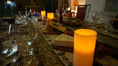 Waiting for friends (ANNE LOTTE) Tags: tisch tablesetting table glas copo mesa queijo vela kerze candle kse cheese