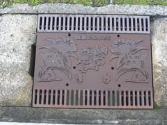 Artistic drainage (Stop carbon pollution) Tags: japan  honshuu