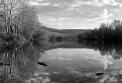 Allegheny River - Afternoon Light - bw (Joe Josephs: 2,861,655 views - thank you) Tags: westvirginia landscape landscapephotography outdoorphotography blackandwhitephotography blackandwhite alleghenyriver americana america rural rurallandscape water waterreflections trees fineartphotography fineartprints joejosephsphotography joejosephs travelphotography travel