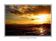 From Cunningburn to Scrabo (Oul Gundog) Tags: co down newtownards cunningburn scrabo sunset strangford lough northern ireland ulster