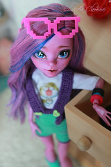 IMG_1849 (Cleo6666) Tags: monsterhigh monster high kjersti trollson mattel ooak repaint doll custom