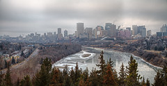 Another Dreary Day in Edmonton (John Payzant) Tags: hdr panorama edmonton alberta canada