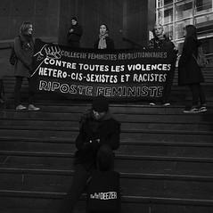 _DSF8686 (sergedignazio) Tags: france paris street photography photographie fuji xpro2 internationale lutte violences femmes