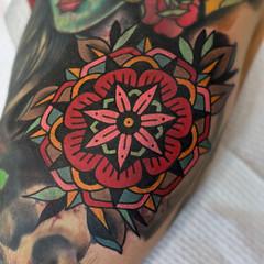 2016 (josh leahy) Tags: joshleahy tattoo tattooer tattooist oldskool traditional brisbane logan goldcoast nikon df lanternandsparrow bold bright newskool clean 28mm 50mm bokeh
