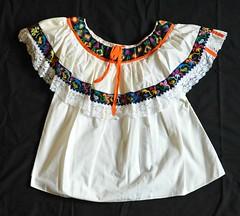 Chol Maya Blouse Tila Chiapas Mexico (Teyacapan) Tags: maya chiapas mexico blusas blouses tila chol embroidered textiles ropa prendas