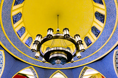 The chandelier (JohnNguyen0297) Tags: colorful colors bright chandelier ibnbattuta dubai mall lookingup lookup abstract a6000 icle6000