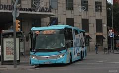 Aerobus A1 (Ja. Martn) Tags: sgmt scania scaniak360ub aerobus barcelona buses autobus bus autobuses fotobus plaadespanya