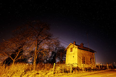 La maison sous les toiles (GillesAdrien) Tags: france loiret nikon toiles nuit night