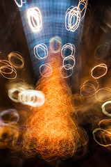 Have Yourself a Very Scribbly Chrismas (Jay:Dee) Tags: topw toronto photo walks abstract zoom blur christmas tree decoration festive