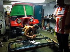 Santiago de Cuba. Cuba (H.L.Tam) Tags: iphone cuban photodocumentary street streetphotography iphoneography sketchbook taxi iphone6s cubasketchbook documentary santiagodecuba cuba students cubantaxi