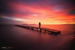 Sometimes Believe (Legi.) Tags: nikon d600 tokina 1116 largaexposicin landscape seascape marmenor losurrutias cartagena amanecer sunrise