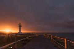 Faro de Ajo (Caramad) Tags: mar landscape sunset marcantábrico puestadesol rocas agua sun cantabria sol farodeajo longexposure costa ajo seascape color olas sea rocks