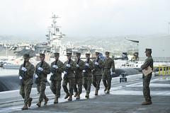 161202-F-AD344-092 (U.S. Department of Defense Current Photos) Tags: 75th anniversary commemoration attack pearlharbor oahu hawaii pacom pacflt pacific asiapacific indoasiapacific december7 1941 kilo pier jointbasepearlharborhickam pearl harbor hickam veteran veterans honor them ussarizona pacaf usarpac departmentofdefense dod past marforpac ph75 marine marines marinecorps ph75usmc unitedstates us