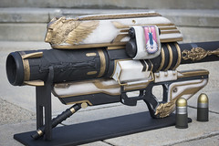 Destiny Gjallarhorn (Tsabo Tsaboc) Tags: last word real 3d lego replica exotic destiny impact cannon rocket thorn bungie props prop launcher wolfpack rtx gjallarhorn xur