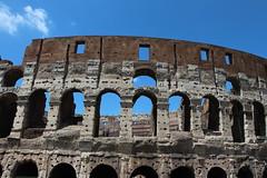 Colosseum - Rome - Italy (Been Around) Tags: italien italy rome roma italian europa europe italia travellers eu ita rim rom europeanunion italie 2012 lazio latium onlyyourbestshots thisphotorocks worldtrekker expressyourselfaward
