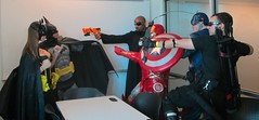 2015 Hagerstown Comic Con (MorpheusBlade) Tags: costume cosplay ironman batman shield hawkeye batgirl captainamerica comicon nickfury hagerstownmd hagerstownmaryland agentbarton washingtoncountyfreelibrarycomiccon
