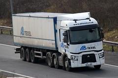 EU14DDZ - AB Texel (TT TRUCK PHOTOS) Tags: t ab renault tt m5 texel strensham