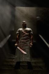 butcher (Carmelo Photography) Tags: blur dark photography blood nikon photographer lima cook creepy butcher chef shooting split tone d800 legiophotos