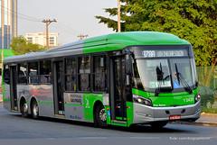 1 2431 (American Bus Pics) Tags: urban bus colors buses mercedes automotive millennium caio paulo barra são brt scania omnibus funda