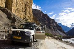 Roadtrip in Indian Himalayas (marcusfornell) Tags: india drive asia asien roadtrip scorpio myles indien spiti himachalpradesh southasia kinnaur mahindra lahaul sdasien
