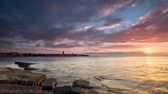 Porec in the evening ... (2) (Alex Verweij) Tags: city clouds canon 5d stad porec plaats alexverweij