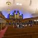Belo órgão no tabernáculo mórmon