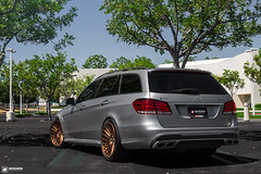 Mercedes Benz E63 AMG on Rotiform IND-t | Boden Autohaus (Boden Autohaus) Tags: 3 wheels mercedesbenz piece custom forged amg e63 indt rotiform rotiformwheels bodenautohaus