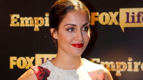 """Hiba Abouk en un acto de """"Fox Life"""""""
