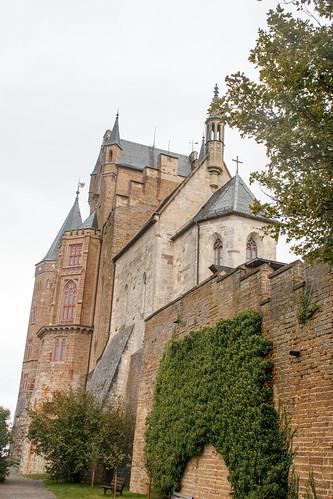 La chapelle catholique Saint-Michel au château de Hohenzollern