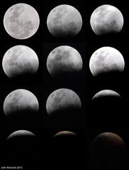 Super Moon Eclipse. 27th September 2015. (john.richards1) Tags: moon collage eclipse nikon sigma super lunar d80 supermoon