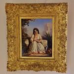 La Rochelle, Musée des beaux arts, Auguste Delacroix, femme juive d'alger, sd, 32.4x24.2 cm thumbnail