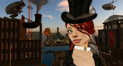 Capt_Red_NEW_Babbage (The Daring Librarian) Tags: secondlife airship steampunk captainred newbabbage