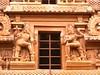 "The Big Temple (11): Sculptures on Tower/Gopuram (v s raam (on/off)) Tags: door india tower architecture temple big guard entrance lord bull unescoworldheritagesite mount nandi shiva gigantic thanjavur siva lingam tamil raja nadu shikara sikhara chola the consort kovil tanjore vimanam shikhara nandhi sanctorum periya rajarajachola vahana vimana mahalingam dwarapalaka thanjai santum sikara brihadeeswarartemple tanjai rajarajacholai rajarajeswaram dwarapala greatlivingcholatemples peruvudaiyarkovil garbhagriha rajarajeshwaratemple chola"" tanchai thanchai brihannayagi"