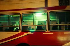 bus at night (pedropapini) Tags: world life street travel light urban bus verde green night canon photography eos photo alone earth empty scene snap amarelo noturna vida viagem noite urbana around rua mundo onibus vazio 550d t2i