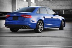 2015 Audi S4 Nogaro Edition (CarSpazDotCom) Tags: blue audi edition exclusive s4 nogaro