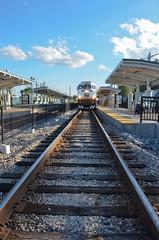 SunRail Orlando (6) (Chris Gent) Tags: railroad station train orlando florida orangecounty commuterrail commuterrailsystem sunrail sandlakestation