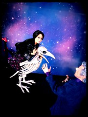 Embrace the Raven (reckless Clara) (Nata Luna) Tags: claraoswald 12thdoctor facetheraven spoilers sortof surreal reckless deathwish thedoctorisdangeroustoknow barbie