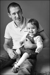 Anthony & Hanna. (nanie49) Tags: france enfant enfance child kid childhood bambino infanzia nio infancia kindheit  nikon d750 portrait retrato nanie49 nb bn