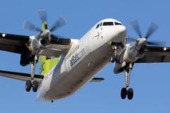 Fokker 50 | Air Baltic (RSgraphy) Tags: airplane airport aircraft aviation air baltic warsaw chopin 50 spotting waw warszawa f50 fokker okcie spotter lotnisko epwa avgeek chopina