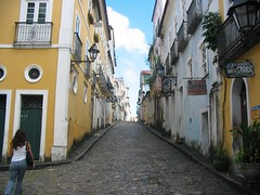 Salvador, Bahia, Brazil (Tomas Belcik) Tags: plaza flowers trees houses windows sea brazil people streets art beach southamerica skyline architecture shopping inn interiors cityscape cathedral decoration churches altar cobblestones bahia shops salvador baroque portuguese posada doorways pelourinho woodtrim ceramictile pillory painitings collonial whippingpost