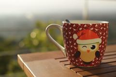 Happy new year 2016! (neus_oliver) Tags: christmas new morning sun maana cup coffee caf table navidad bokeh year mug taza ao mesa nuevo 2016