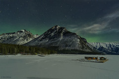 Rocky Mountains Aurora Borealis