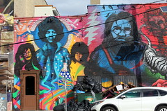 Jersey City: Pawn's Columbus Drive Mural (wallyg) Tags: streetart newjersey mural jerseycity nj jc pawn jerrygarcia jimmorrison janisjoplin downtownjerseycity shaunedwards pawnmd pawnprice