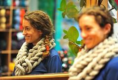 Knitting in wool is the Art we love! (sifis) Tags: texture wool nikon knitting pattern natural knit merino athens greece cables 85  sakalak d700   sakalakwool